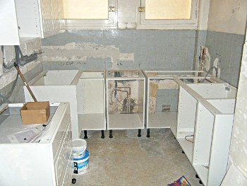 Joneau Kitchen - Complete renovation - the start